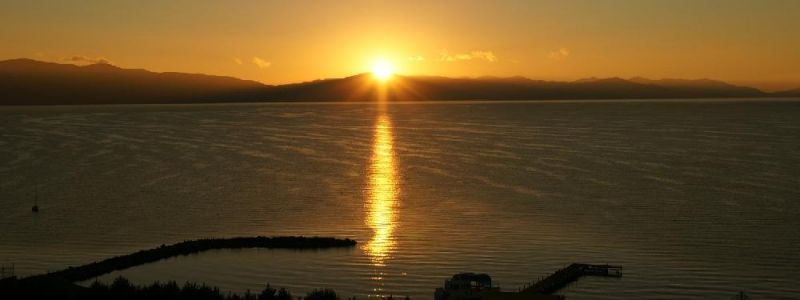 Sunset at Lake Sevan